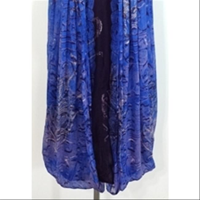 Nicole Miller short dress blue Collection Draped Back Strapless on Tradesy Image 3