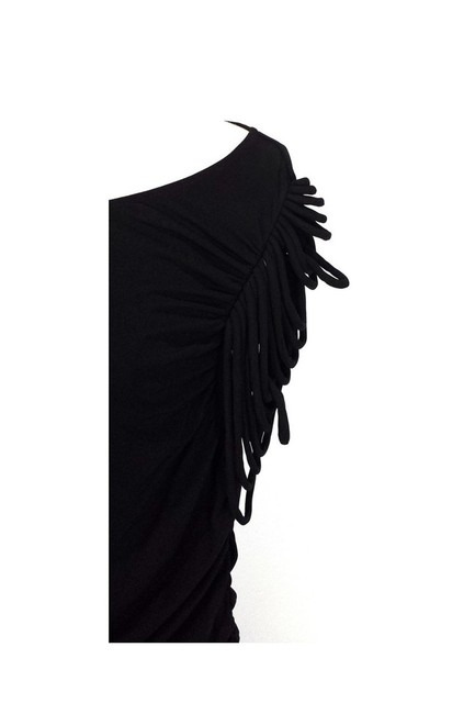 Temperley London short dress black Bodycon Fringe on Tradesy Image 3