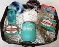 Teal Organic Goat Milk Soap Trio Mermaid Magic Box Handmade Bath Accessory
