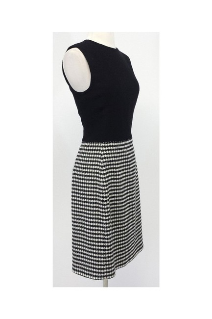 Ralph Lauren short dress black Wool Cashmere Houndstooth Sheath on Tradesy Image 1