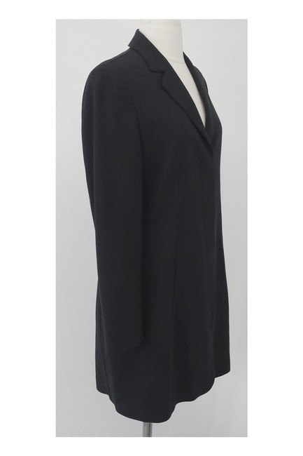 Calvin Klein Collection Dark Gray Wool Long Blazer Image 1