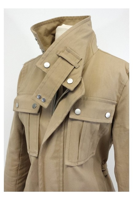 Dsquared2 Cotton Utility Trench Coat Image 1