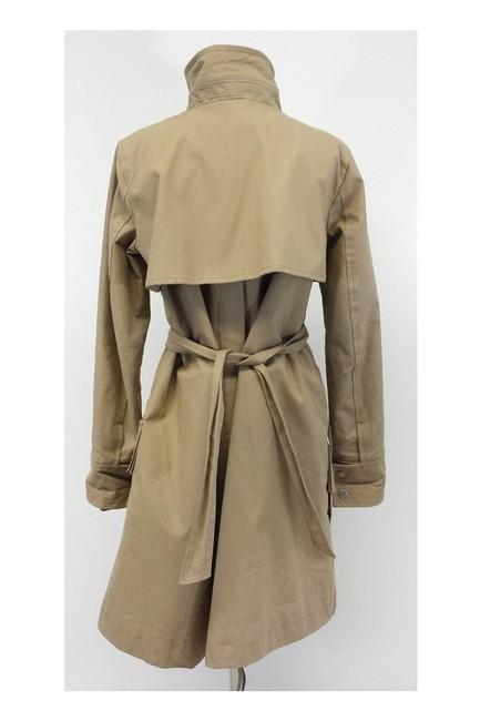 Dsquared2 Cotton Utility Trench Coat Image 3