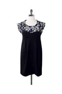 Twinkle by Wenlan short dress black Abstract Print on Tradesy
