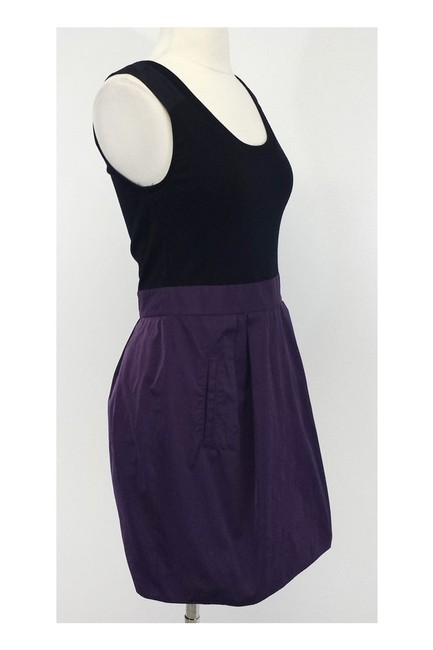 Theory short dress purple Black Wool Blend Sleeveless Aline on Tradesy Image 1