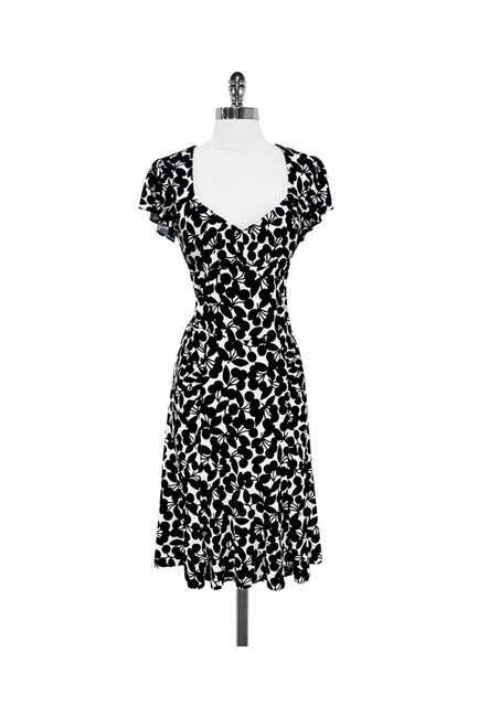 Nanette Lepore short dress black White Very Cherry on Tradesy Image 0