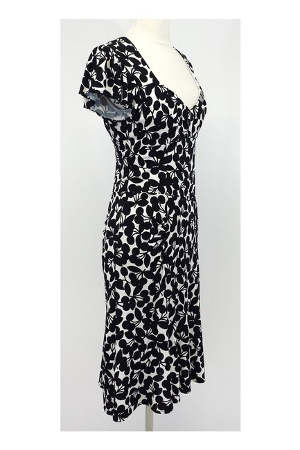 Nanette Lepore short dress black White Very Cherry on Tradesy Image 1