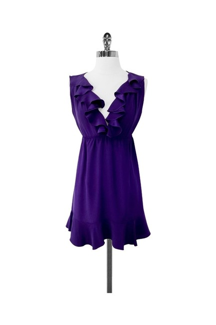 Preload https://img-static.tradesy.com/item/25195231/amanda-uprichard-purple-short-casual-dress-size-4-s-0-0-650-650.jpg