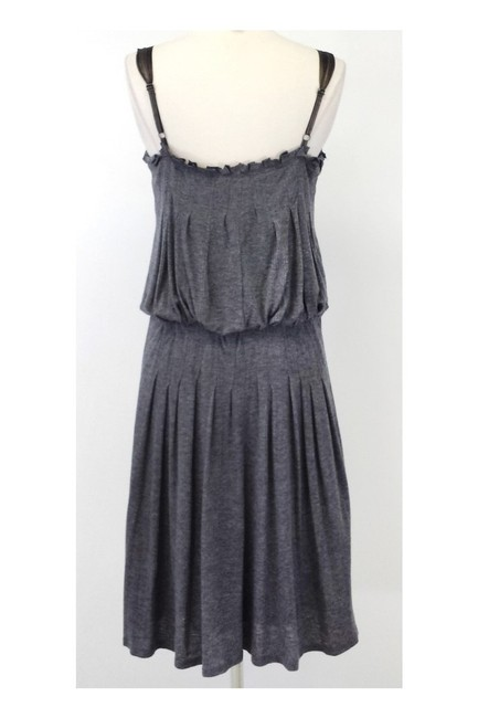 BCBGMAXAZRIA short dress Max Azria Gray Wool Blend Ribbed Knit on Tradesy Image 2