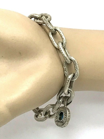 Konstantino Konstantino Sterling Silver & 18k Yellow Gold With Turquoise Bracelet Image 6