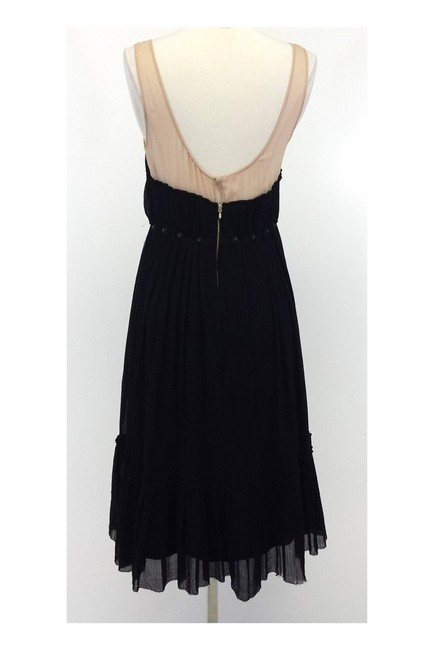 3.1 Phillip Lim short dress black Nude Silk W/ Embellished Waist on Tradesy Image 2