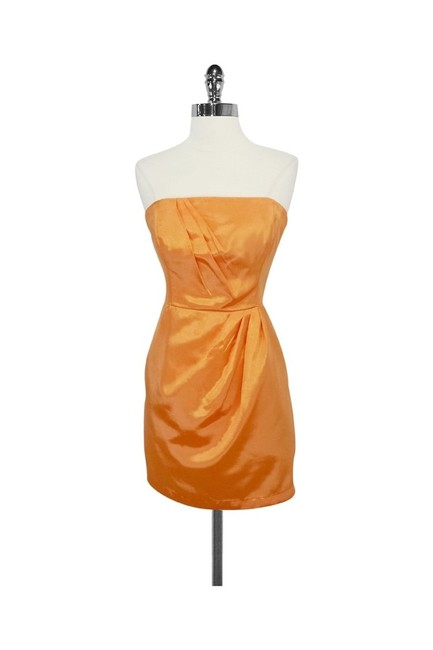 Preload https://img-static.tradesy.com/item/25195365/shoshanna-orange-short-casual-dress-size-8-m-0-0-650-650.jpg