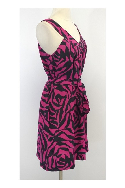 Marc by Marc Jacobs short dress pink Gray Print Silk Tie Waist on Tradesy Image 1