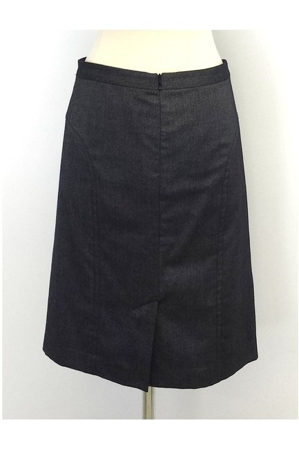 Trina Turk Wool Silk Blend Pencil Skirt gray Image 2