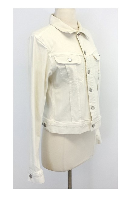 Ralph Lauren Ivory Denim white Jacket Image 1