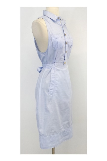 Dsquared2 short dress blue Light Cotton Sleeveless Shirtdress on Tradesy Image 1