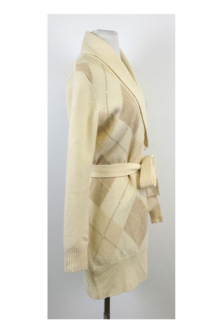 Brooks Brothers Tan Argyle Sweater Image 1