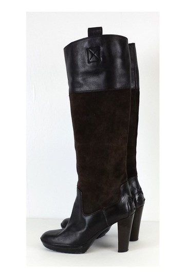 Tod's Suede Brown Boots Image 2