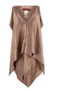 Sies Marjan Silk Draped Top Pink