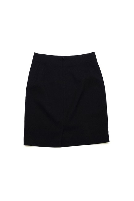 Theory Textured Pencil Skirt Black Image 1