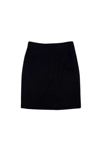 Theory Textured Pencil Skirt Black Image 2