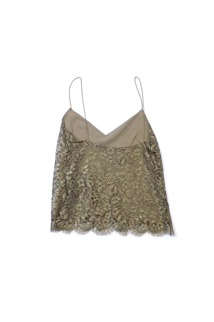 Ralph Lauren Collection Lace Top Gold Image 1