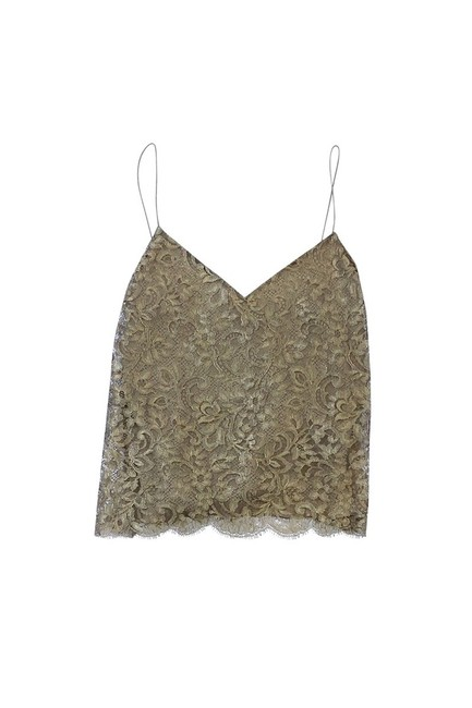 Ralph Lauren Collection Lace Top Gold Image 2