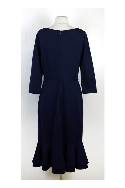 Erin Fetherston short dress Navy Black Long Sleeve on Tradesy Image 2