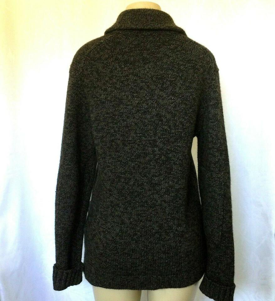 b05c6ad3a43 Vince Brown Sweater Button Down Yak Wool Long Sleeve M Pocket Cardigan Size  10 (M)