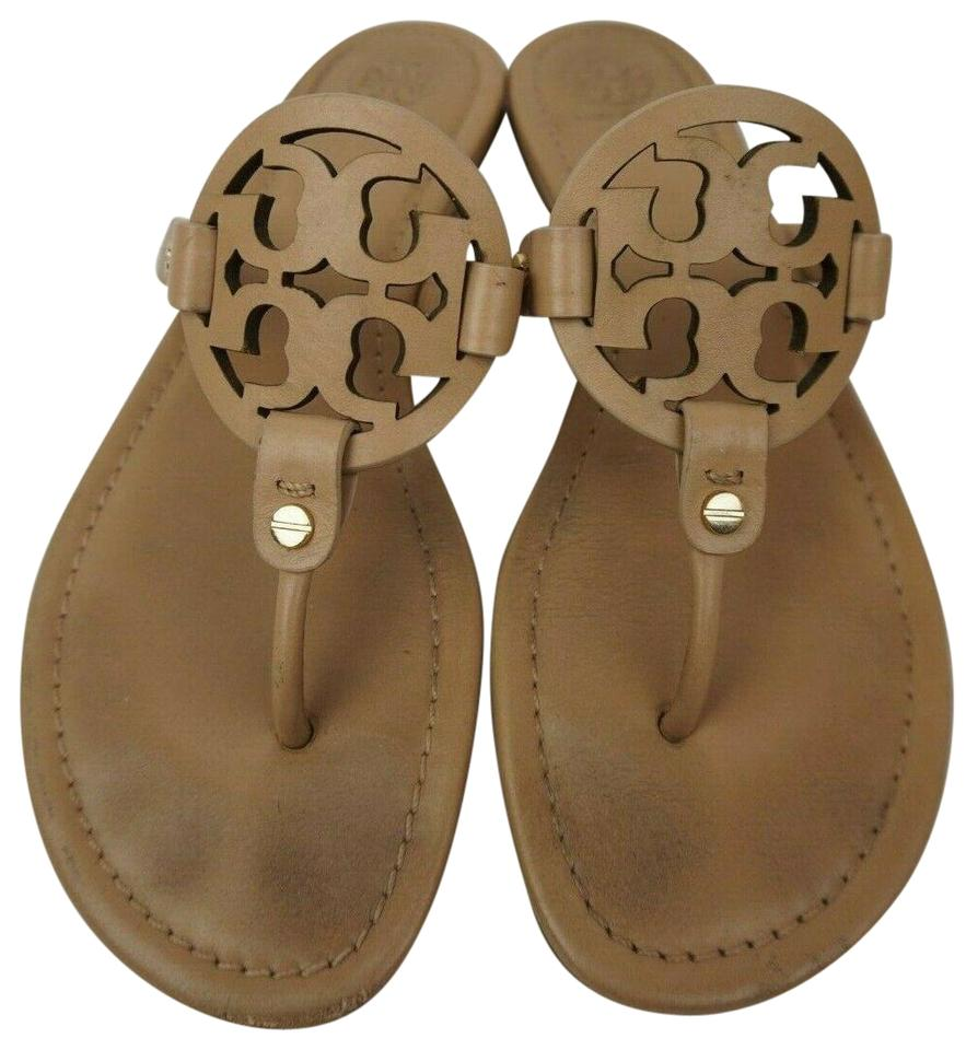 9586393a8ab6 Tory Burch Makeup Miller Flip Flops Leather Sandals Size US 8 ...