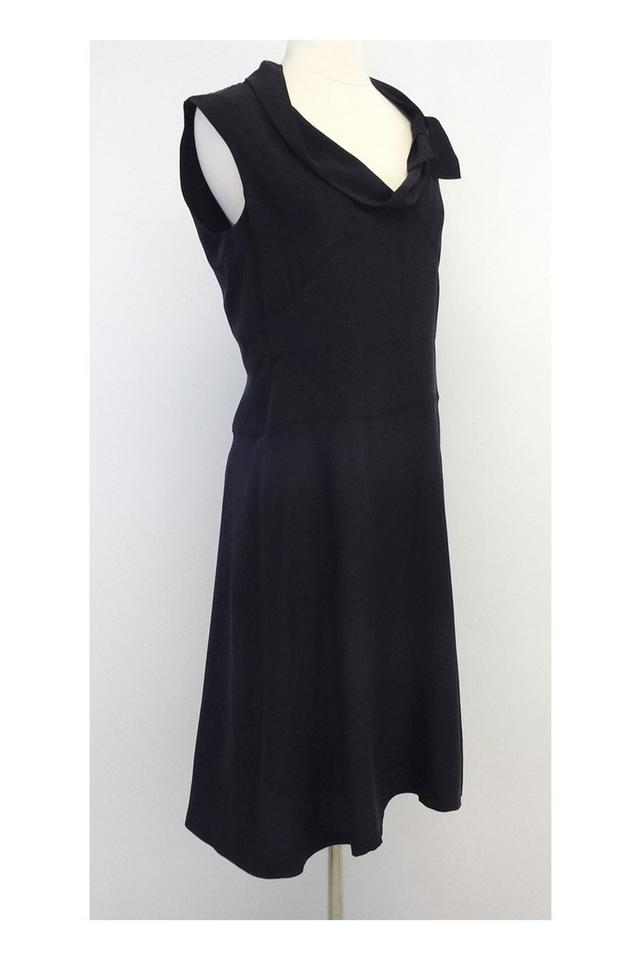 9a25fb3905 Cacharel short dress Black Silk Sleeveless on Tradesy Image 2. 123