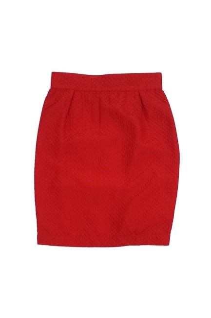 Item - Red Skirt Size 6 (S)