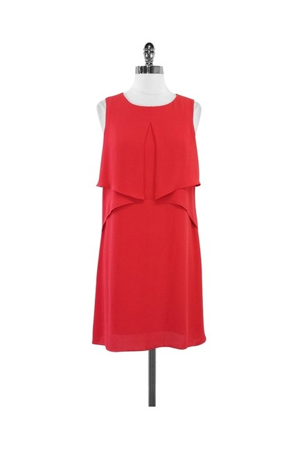 Item - Red Short Casual Dress Size 4 (S)
