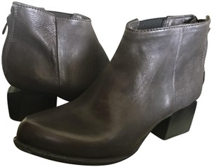 A.S. 98 Leather Moto Ankle Brown Boots