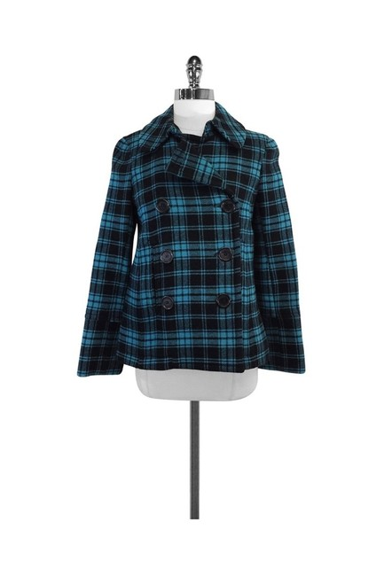 Marc by Marc Jacobs Blue Coat Size 0 (XS) Marc by Marc Jacobs Blue Coat Size 0 (XS) Image 1