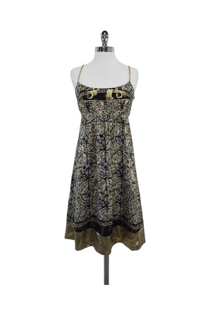 Item - Gold Short Casual Dress Size 6 (S)