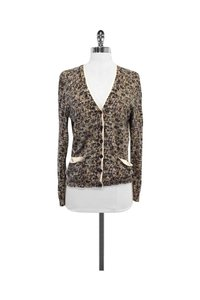 Marc by Marc Jacobs Multicolor Print Cotton Cardigan