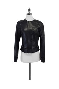 KAUFMANFRANCO Leather Black Jacket