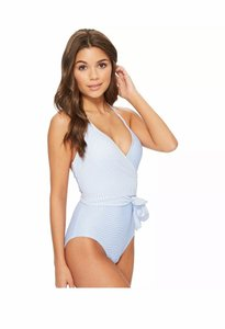 Vince Camuto Nwt VINCE CAMUTO blue sailor wrap swimsuit