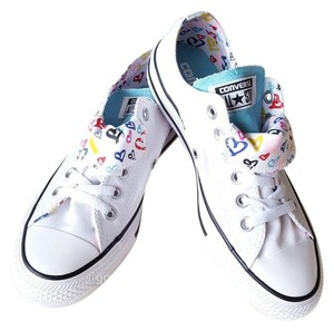 a0febe91dce662 Converse White Aqua Athletic