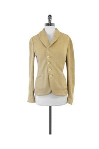 Ralph Lauren Textured Linen Gold Jacket