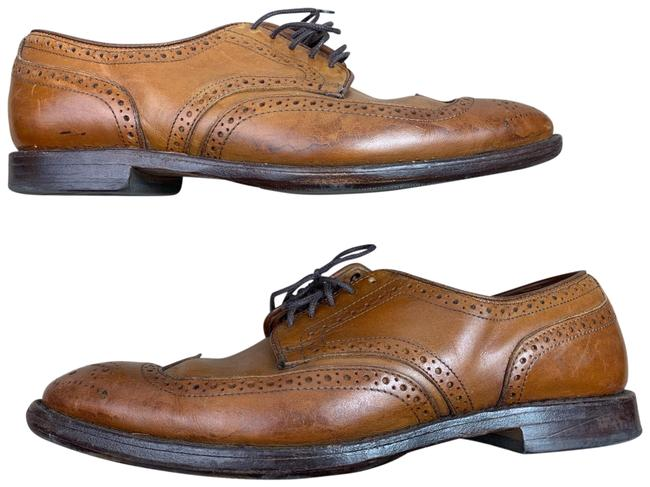 Item - Madison Park Wingtip Oxford Walnut Brown Derby 1/2 E Formal Shoes Size US 9.5 Extra Wide (Ww, Ee)