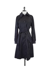 DKNY Hooded Trench Coat