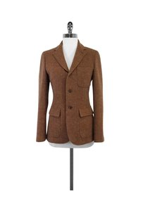 Ralph Lauren Wool Alpaca Brown Jacket