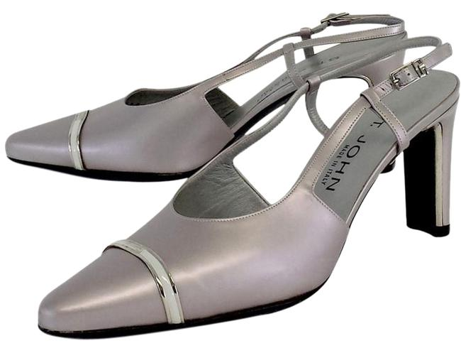 Item - Silver Pumps Size US 8.5 Regular (M, B)