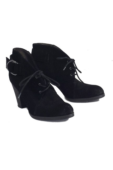 Item - Black Boots/Booties Size US 6.0 Regular (M, B)