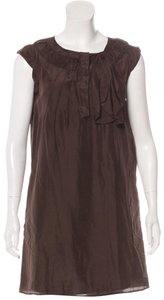 See by Chloé short dress Brown on Tradesy
