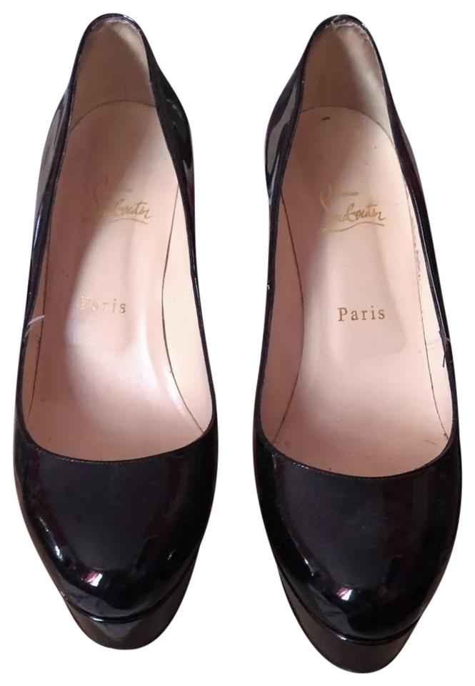 e8189531175 Christian Louboutin Black Bianca 120 Patent Calf Pumps Size EU 39 (Approx.  US 9) Regular (M, B)