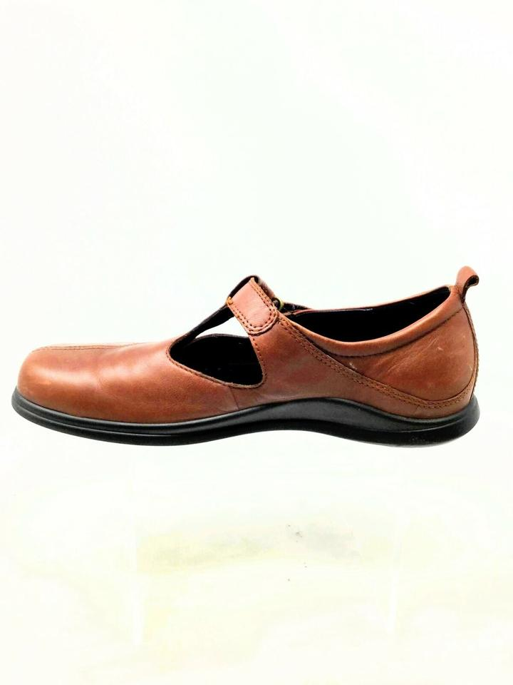 bfd25f50d576 Ecco Brown Women s T-strap Maryjanes 6.5 Us  40 Eu Mules Slides Size US 9.5  Regular (M