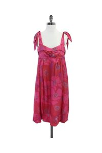 Marc Jacobs short dress Pink Purple Blue Floral on Tradesy